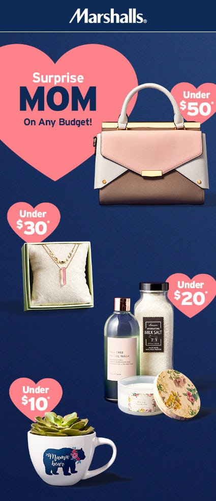 Mother's Day Gifts from $10