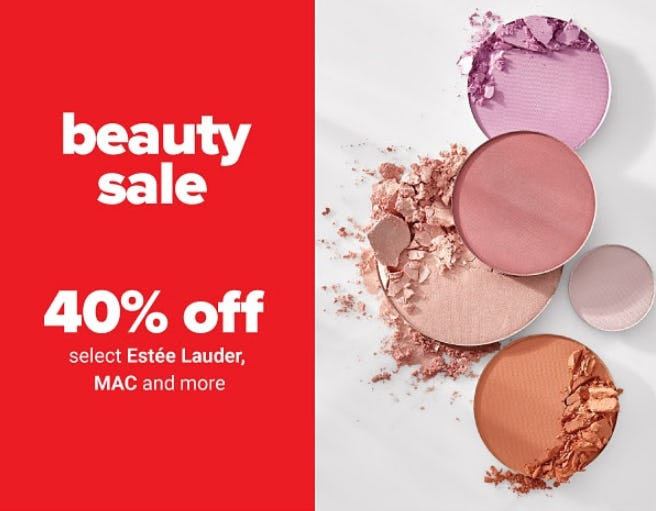 40% Off Beauty Sale from Belk
