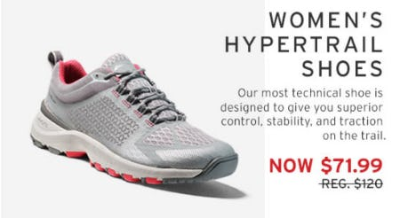 $71.99 Women's Hypertrail Shoes from Eddie Bauer