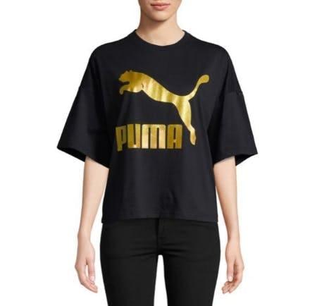 Puma Metallic Graphic Tee