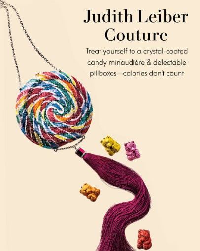 Judith Leiber Couture from Neiman Marcus