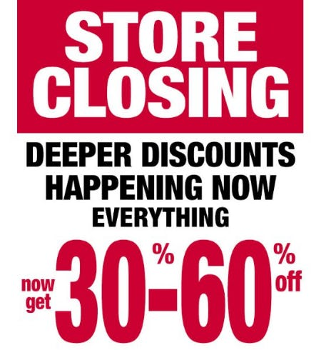 Store Closing: Now Get 30-60% Off from Dress Barn, Misses And Woman
