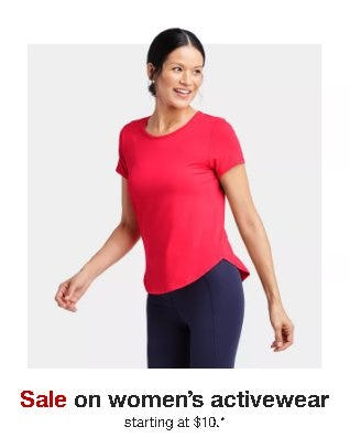Women's Activewear Starting at $10