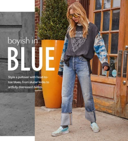 Boyish in Blue from Free People
