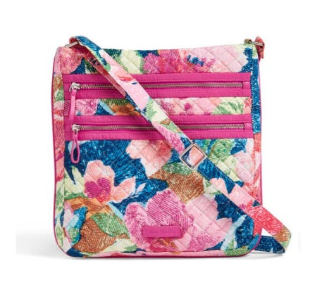 Iconic Triple Zip Hipster from Vera Bradley