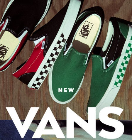 Vans New Arrivals from Shiekh