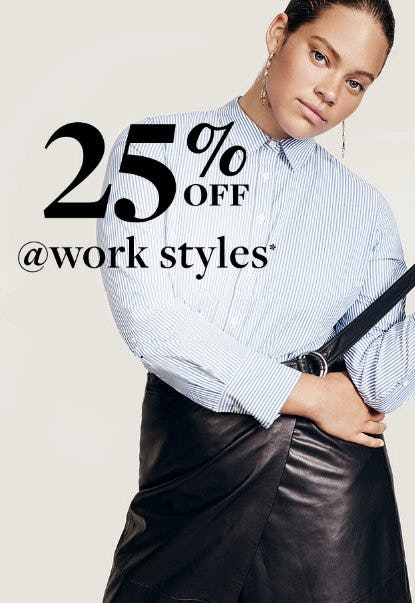 25% Off at Work Styles from J.Crew