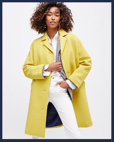 Introducing the Car Coat from J.Crew