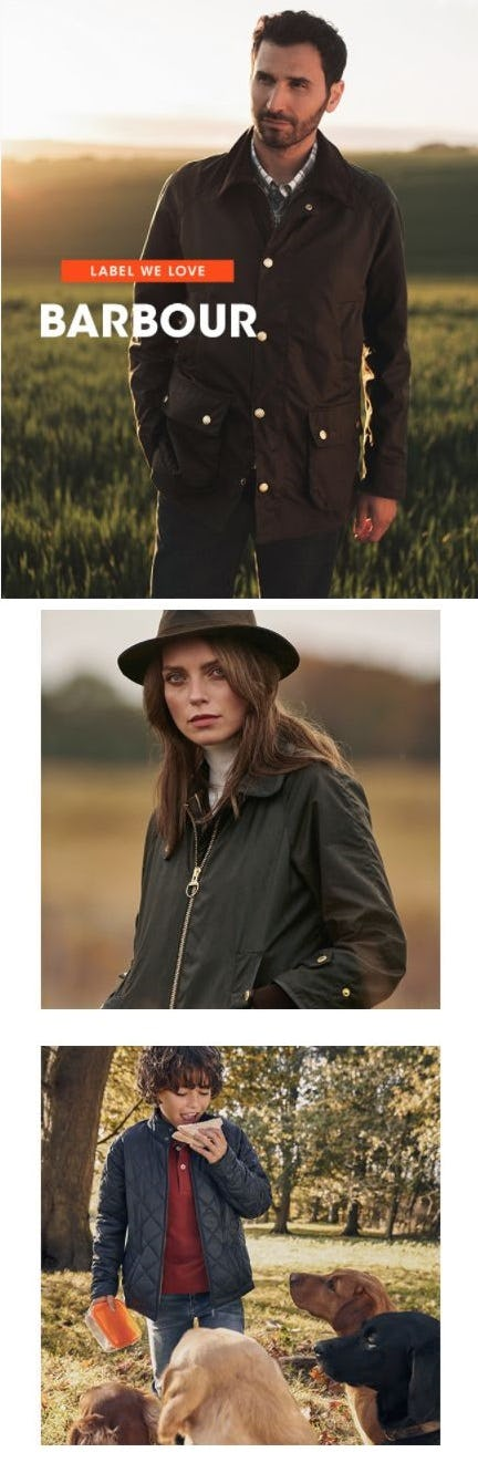 Barbour's Brand-New Outerwear