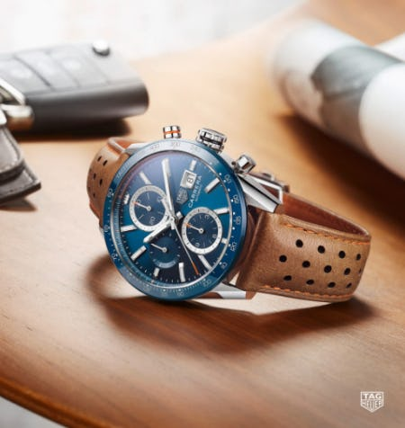 TAG Heuer Carrera Collection from Ben Bridge Jeweler
