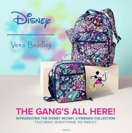 Shop Disney IN STORE! from Vera Bradley