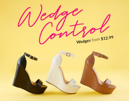 Wedges From $12.99 from Rainbow
