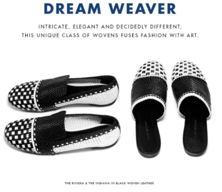 Meet Our Unique Class of Wovens from STUART WEITZMAN