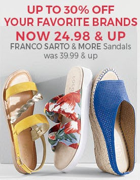 Up to 30% Off Your Favorite Shoe Brands from Stein Mart