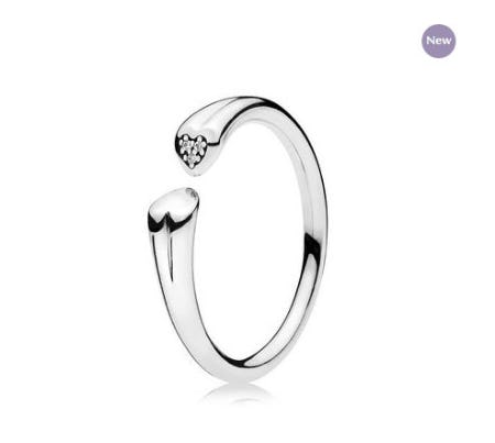 Two Hearts Ring from PANDORA
