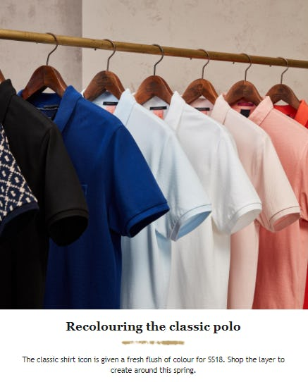 Newest Shades of Polos from Scotch & Soda