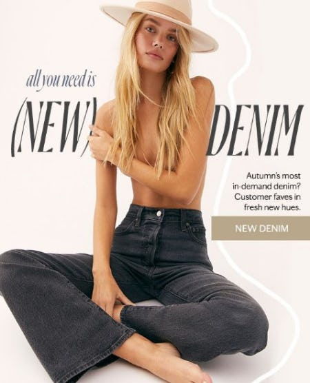 Shop New Denim from Free People