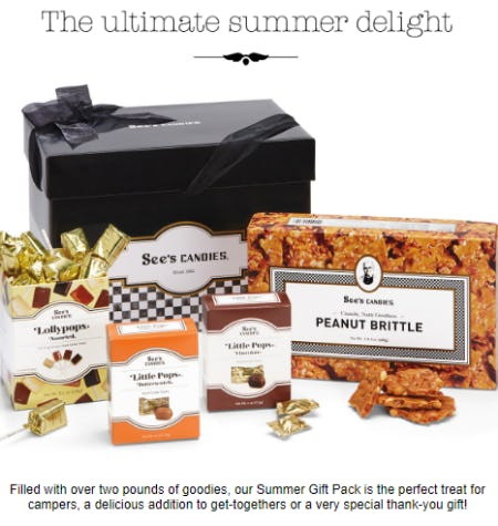 Summer Gift Pack from See's Candies