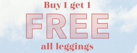 Buy 1, Get 1 Free All Leggings from Aerie