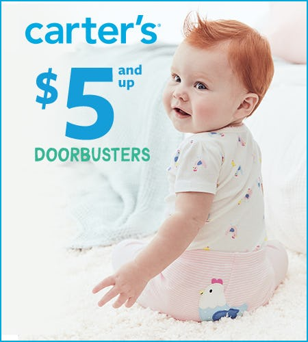 $5 & Up Doorbusters from Carter's