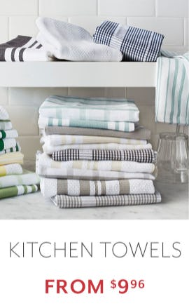 Kitchen Towels from $9.96 from Sur La Table