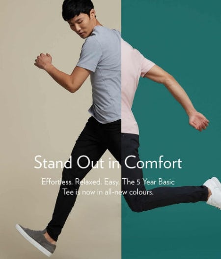 Stand Out in Comfort from lululemon