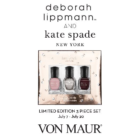 Deborah Lippmann Gift With Purchase from Von Maur