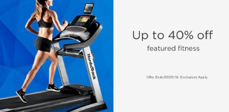 Up to 40% Off Featured Fitness from Sears