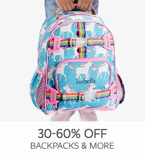 30-60% Off Backpacks & More from Pottery Barn Kids