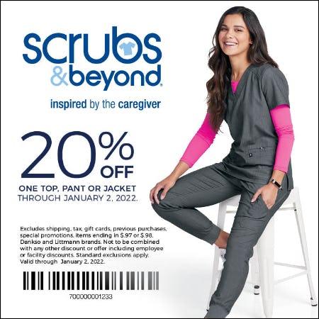 Scrubs & Beyond Winter coupon from Scrubs & Beyond