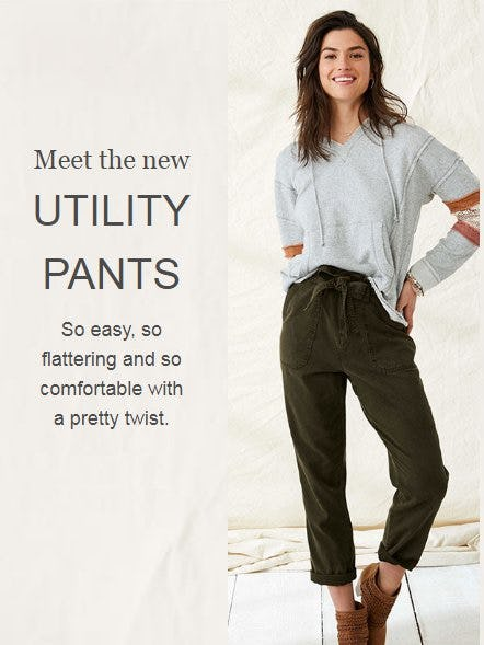 Meet the New Utility Pants