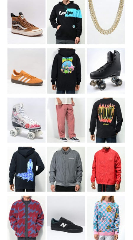 Everything New from Zumiez