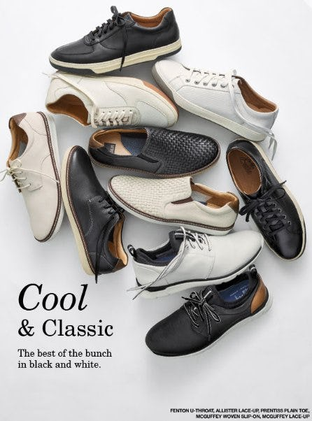 Cool & Classic Sneakers from JOHNSTON & MURPHY