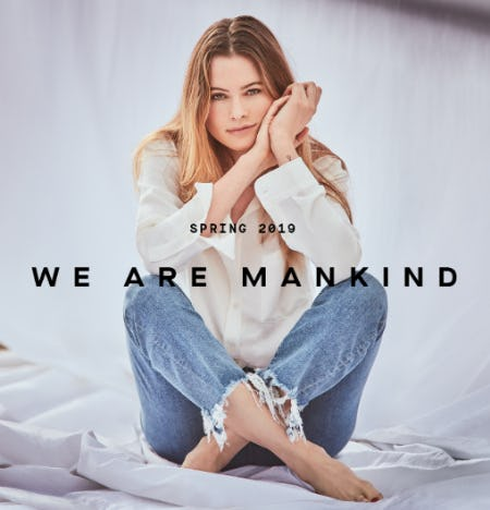 We Are Mankind SS19 from 7 for All Mankind