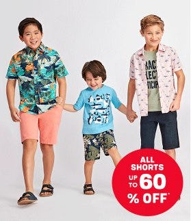 All Shorts up to 60% Off from The Children's Place