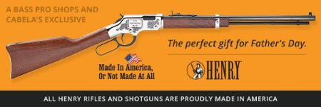 American Made Henry Rifles and Shotguns from Cabela's