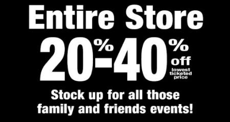 20%-40% Off Entire Store from PAPYRUS