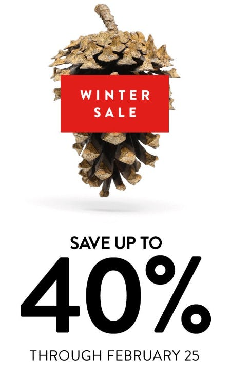 Winter Sale up to 40% Off from Nordstrom