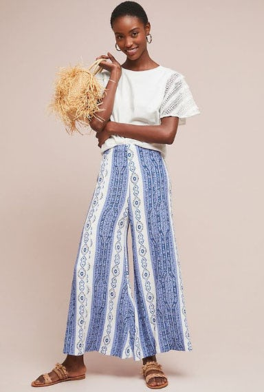 Manon Flared Pants from Anthropologie