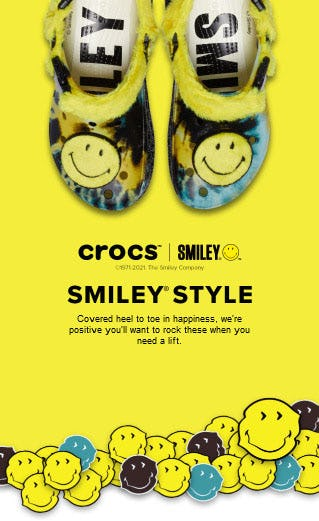 Smiley Style from Crocs