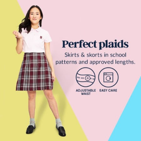 Perfect Plaids from Lands' End