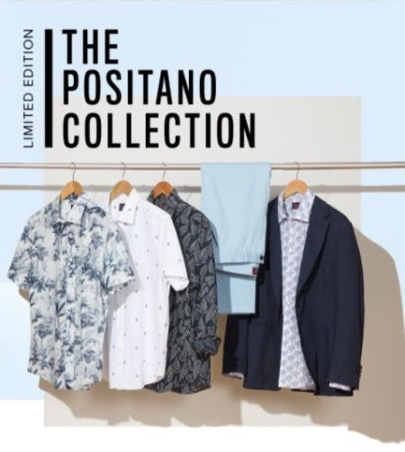 Introducing The Limited-Edition Positano Collection from UNTUCKit