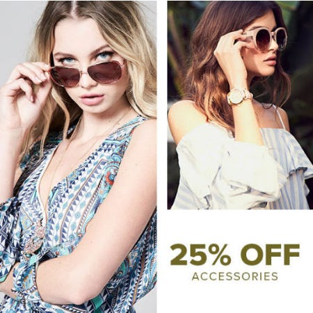 25% Off Accessories from Rainbow