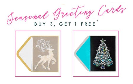 B3G1 Free Seasonal Greeting Cards from PAPYRUS