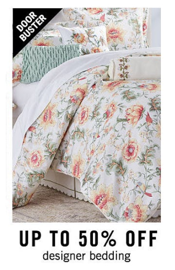 Up to 50% Off Designer Bedding from Belk
