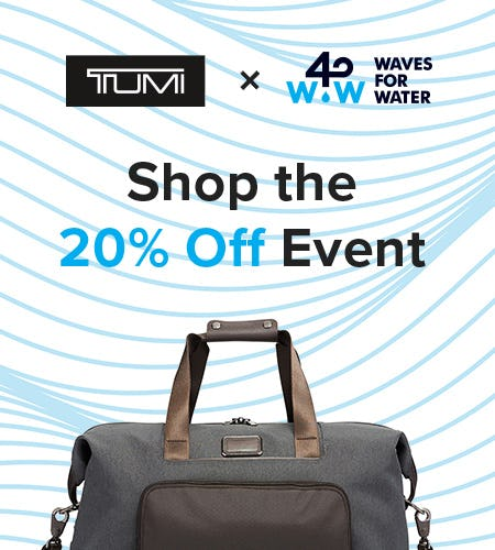 Shop the 20% Off Event from TUMI