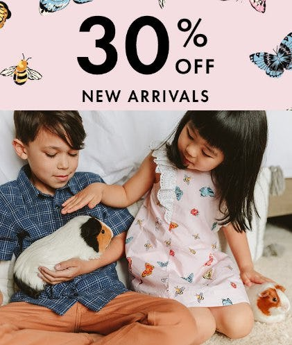 30% Off New Arrivals from Hanna Andersson