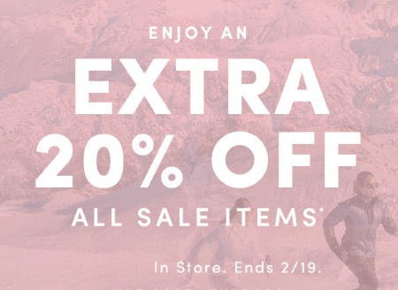Extra 20% Off Sale from Athleta