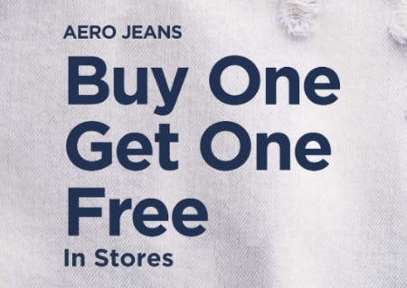 BOGO Free Aero Jeans