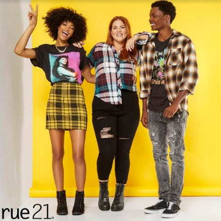 BOGO $5 Throughout the Entire Store from rue21